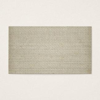 Cotton Linen Background Business Card