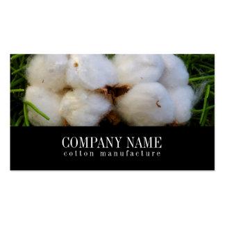 Cotton Manufacture Business Card