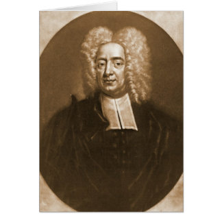 Cotton Mather 1728 Card