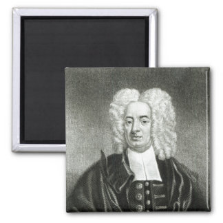Cotton Mather 2 Inch Square Magnet