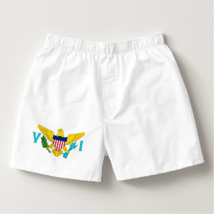 d3a1aaf20ff1 Cotton Men s Boxers with flag of Virgin Islands