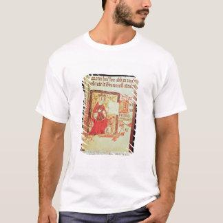 Cotton Nero D VIII fol.7 Queen Matilda holding a c T-Shirt