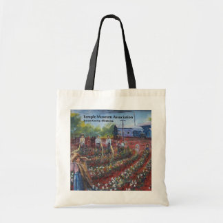 Cotton Pickin' in Temple, Oklahoma Tote Bag