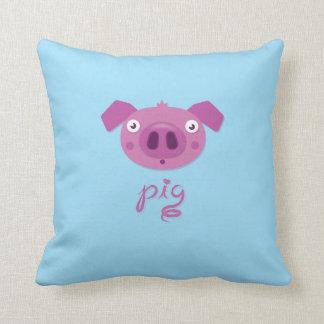 Cotton Pig Love Pillow
