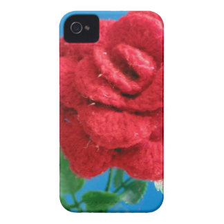 Cotton Red Rose iPhone 4 Case