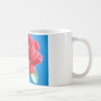 Cotton Red Rose Mug