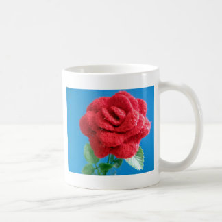 Cotton Red Rose Coffee Mugs