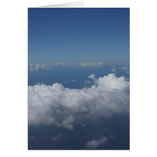 Cotton Skies Greeting Card (full size)