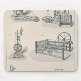 Cotton Spinning I Mouse Pad