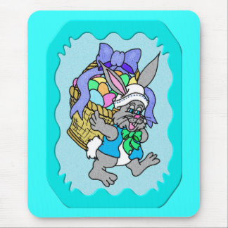 Cotton-tail Easter 5 Mouse Pad