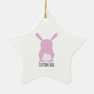 Cotton Tail Christmas Tree Ornament
