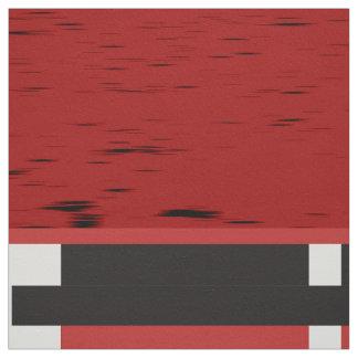 "Cotton Twill (58"" width) RED/BLACK BARS Fabric"