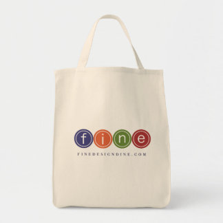 Cotton Twill Grocery Grocery Tote Bag