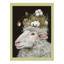 cotton wool postcard