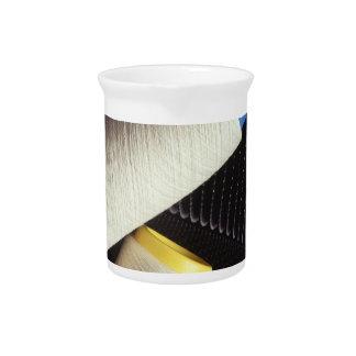 Cotton Yarn Coil Beverage Pitchers