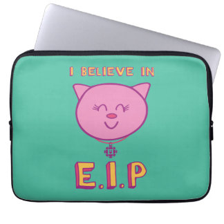 Cottonball – I Believe in E.I.P Laptop Sleeve