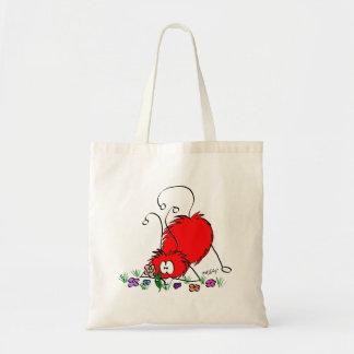 Cottonballs Tiny Tote Bag