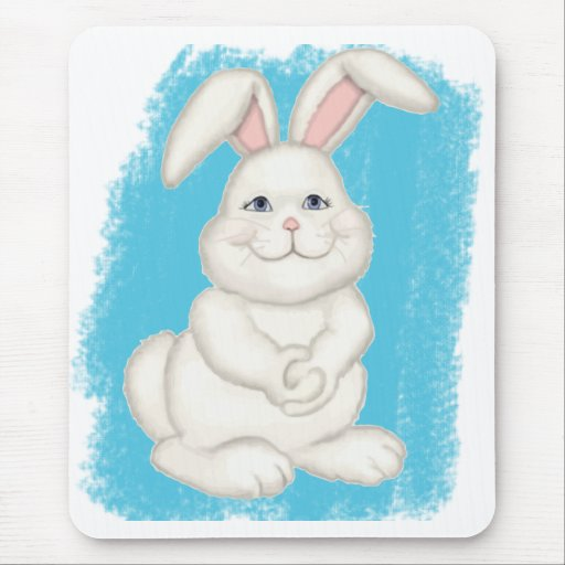 Cottontail Bunny Mouse Pad