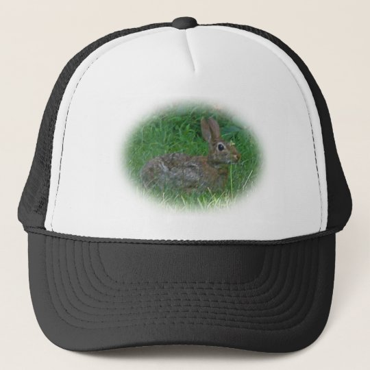 Cottontail Bunny Rabbit Cordinating Items Trucker Hat