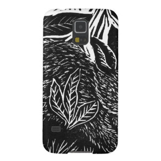 Cottontail Rabbit - block print Case For Galaxy S5