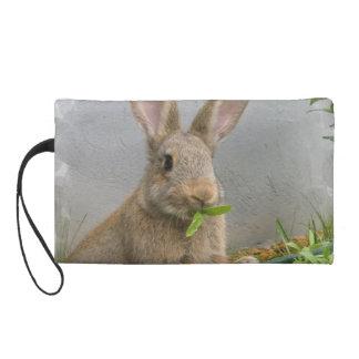 Cottontail Rabbit Wristlet