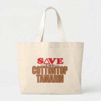Cottontop Tam Save Large Tote Bag