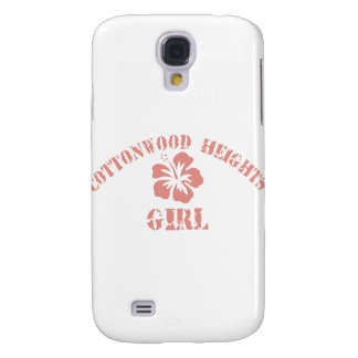 Cottonwood Heights Pink Girl Samsung Galaxy S4 Cover
