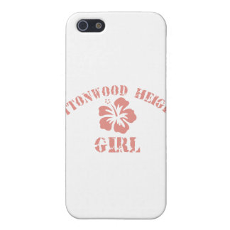 Cottonwood Heights Pink Girl Case For iPhone 5/5S