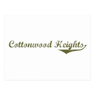 Cottonwood Heights Revolution t shirts Postcard
