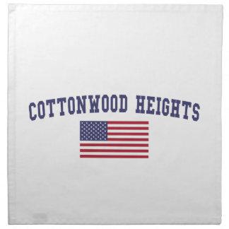 Cottonwood Heights US Flag Napkin