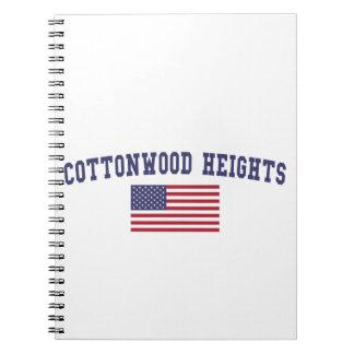 Cottonwood Heights US Flag Notebook