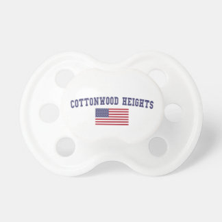 Cottonwood Heights US Flag Pacifier