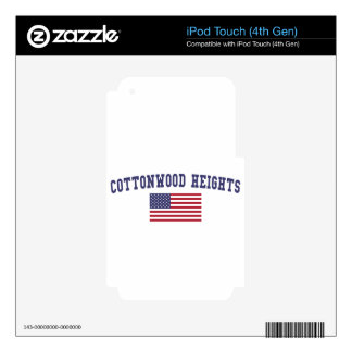 Cottonwood Heights US Flag Skins For iPod Touch 4G