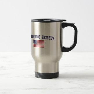 Cottonwood Heights US Flag Travel Mug