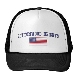 Cottonwood Heights US Flag Trucker Hat