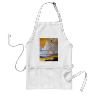 cottonwoodclouds3 adult apron