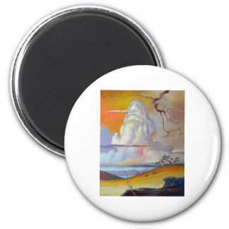 cottonwoodclouds3 magnet