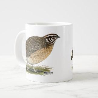 Coturnix Pharaoh Quail Large Coffee Mug