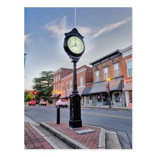 cou de la pequeña ciudad de la ciudad del rosa postal