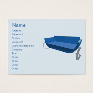 Couch - Chubby Business Card