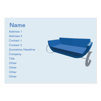 Couch - Chubby Large Business Card