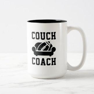 Couch Coach Two-Tone Coffee Mug