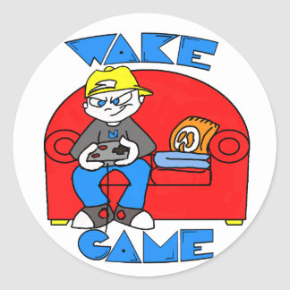Couch Gamer Stickers