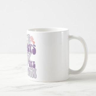 couch man classic white coffee mug