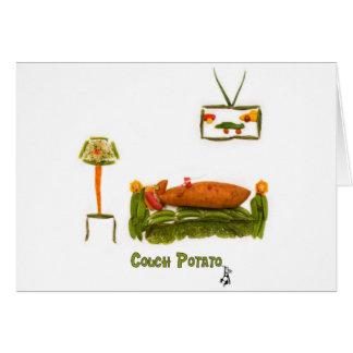 Couch Potato Accessories Card