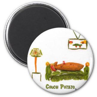 Couch Potato Accessories Fridge Magnets