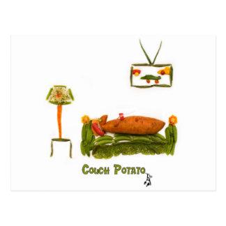 Couch Potato Accessories Postcard