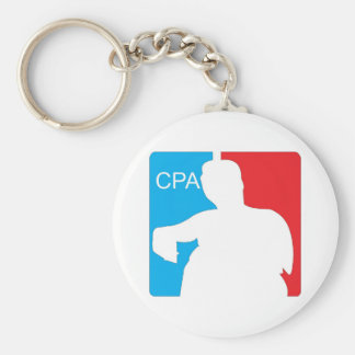 Couch Potato Association Keychain