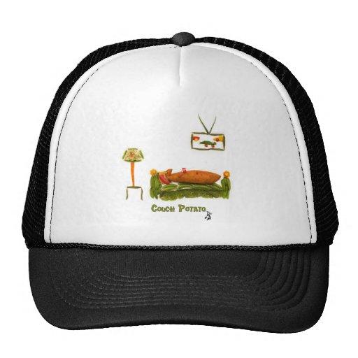 Couch Potato Clothes Hats