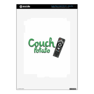 Couch Potato iPad 3 Decal